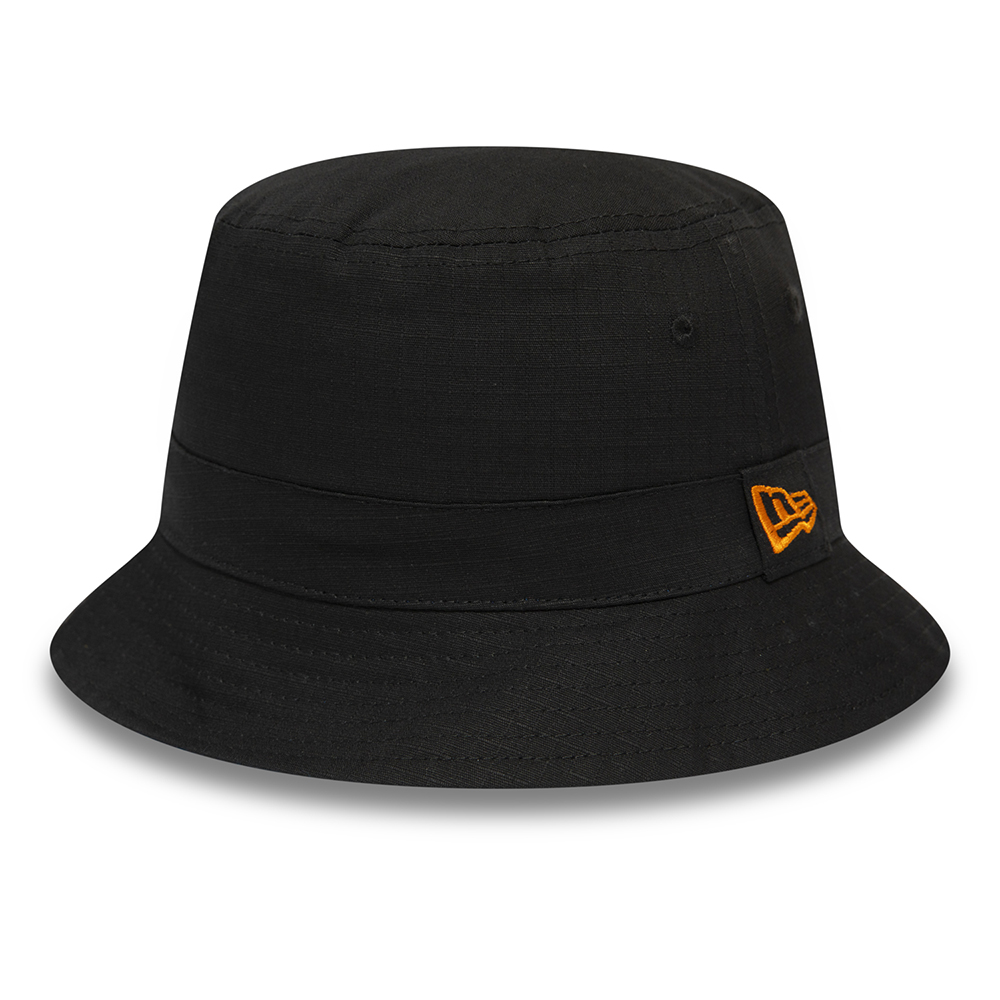 New Era African Print Black Bucket