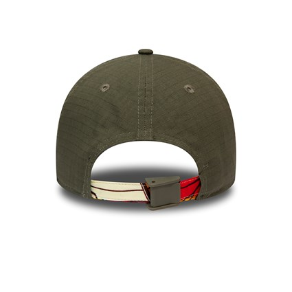 New Era African Print Khaki 9FORTY Cap