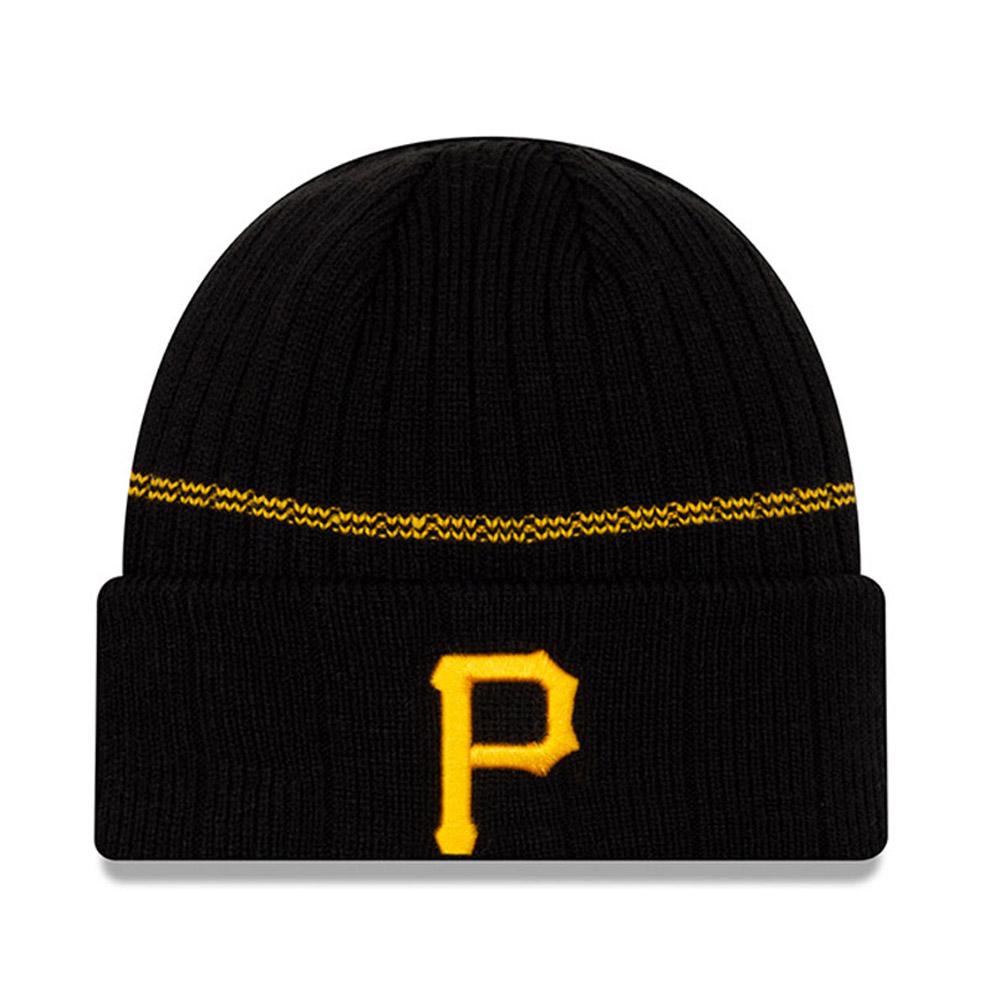 Bonnet à revers noir Pittsburgh Pirates