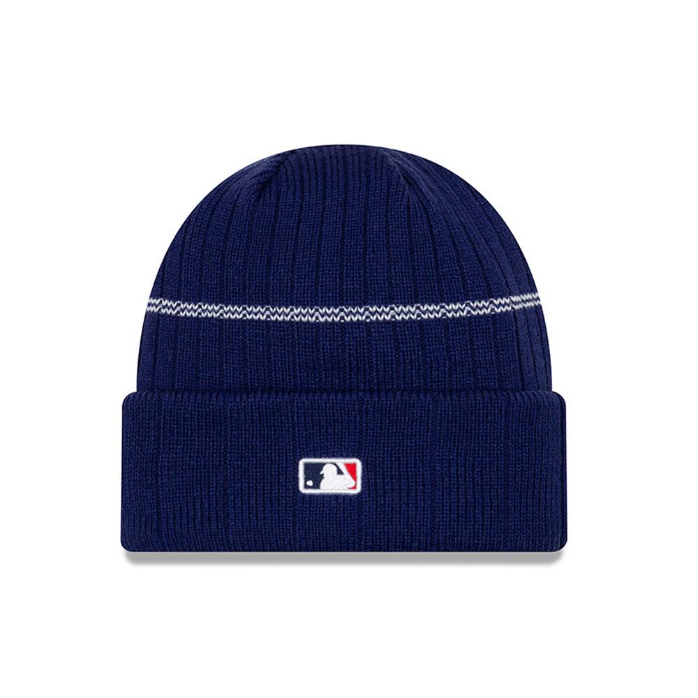 Bonnet à revers bleu marine Los Angeles Dodgers