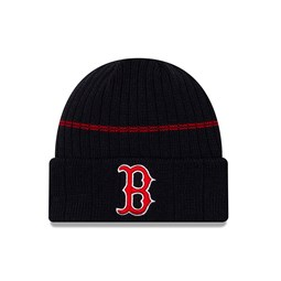 Gorro de punto con vuelta Boston Red Sox azul marino