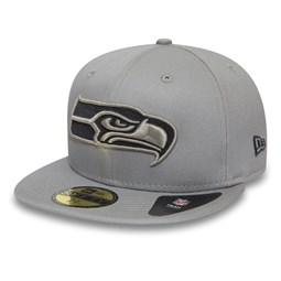 Seattle Seahawks Tonal Grey 59FIFTY Cap
