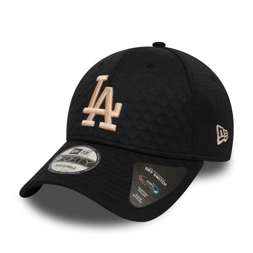 Cappellino Dry Switch 9FORTY nero dei Los Angeles Dodgers