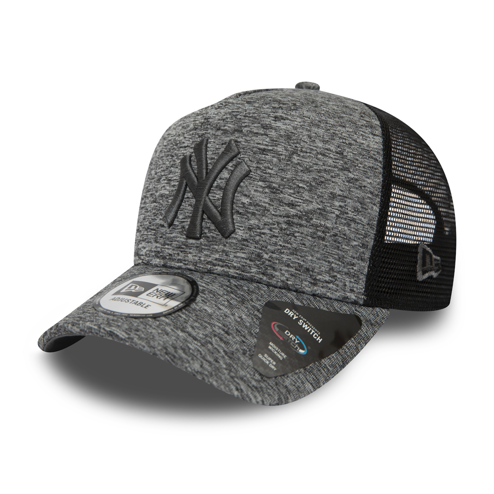 Gorra Trucker New York Yankees Dry Switch A Frame gris