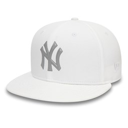 New York Yankees 9FIFTY Kappe in Weiß mit reflektierendem Logo