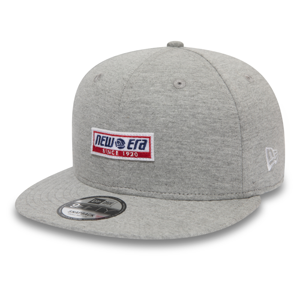 New Era Retro Block 9FIFTY Kappe in Grau