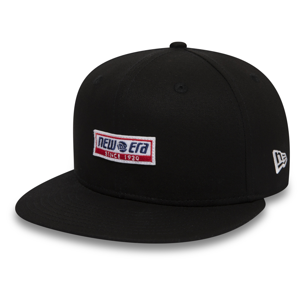 New Era Retro Block 9FIFTY Kappe in Schwarz