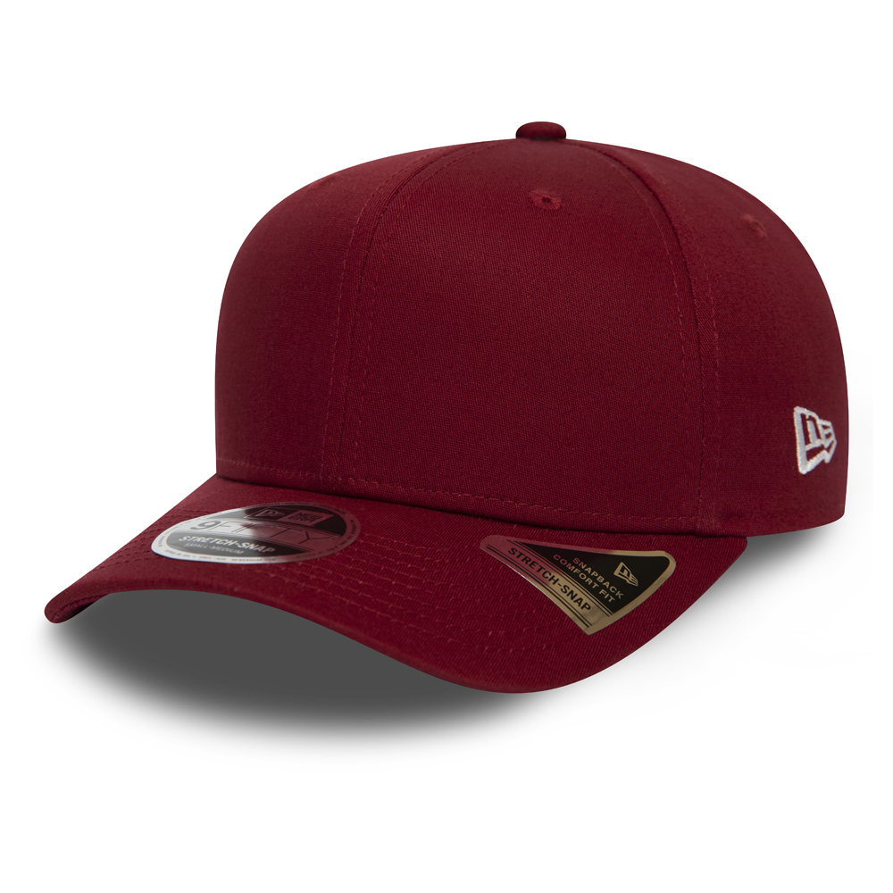 New Era Essential Stretch 9FIFTY Kappe in Rot