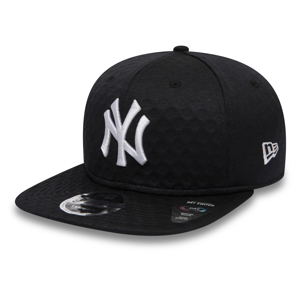 "9FIFTY-Kappe der New York Yankees ""Dry Switch"" in Schwarz."