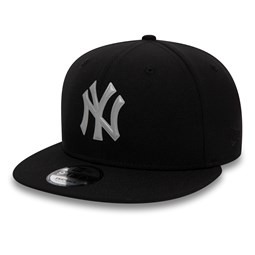 New York Yankees 9FIFTY Kappe in Schwarz mit reflektierendem Logo