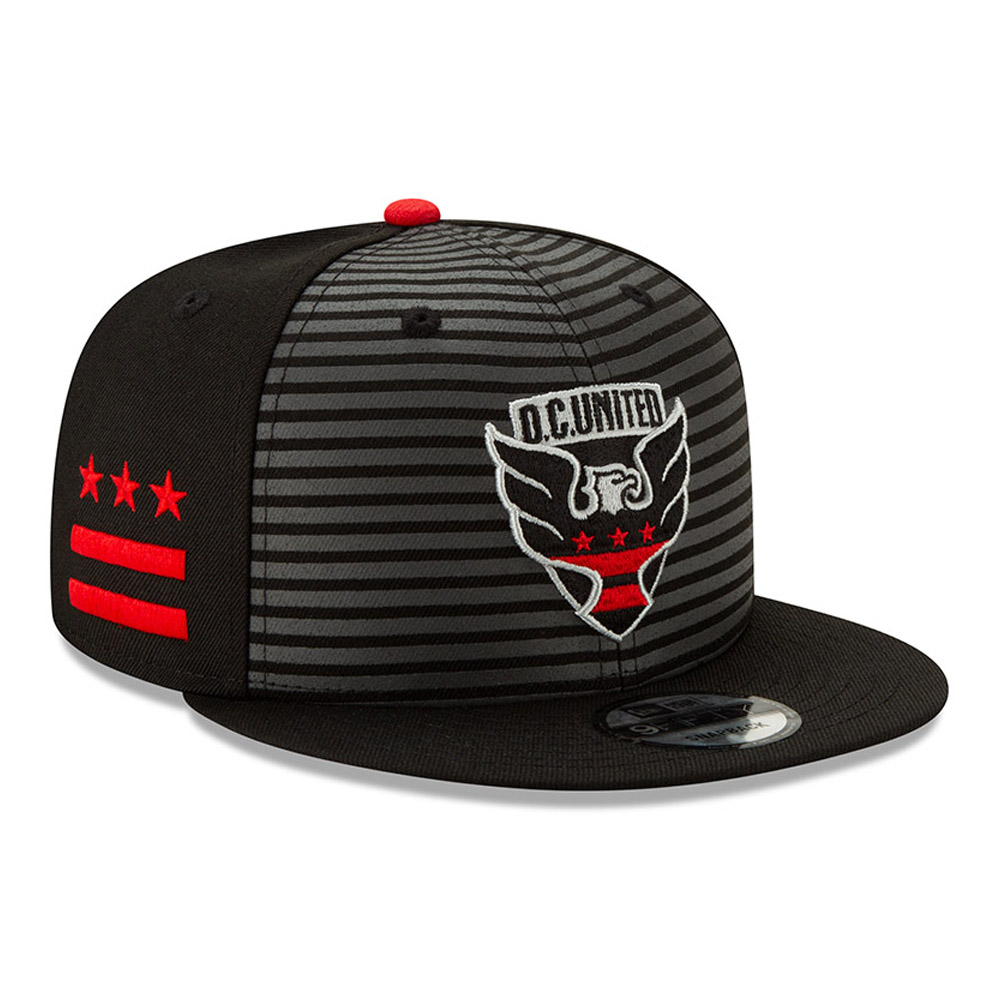 Gorra D.C. United On Field [#0]}FIFTY, negra