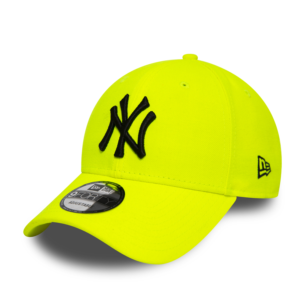 Gorra New York Yankees 9FORTY, amarillo neón