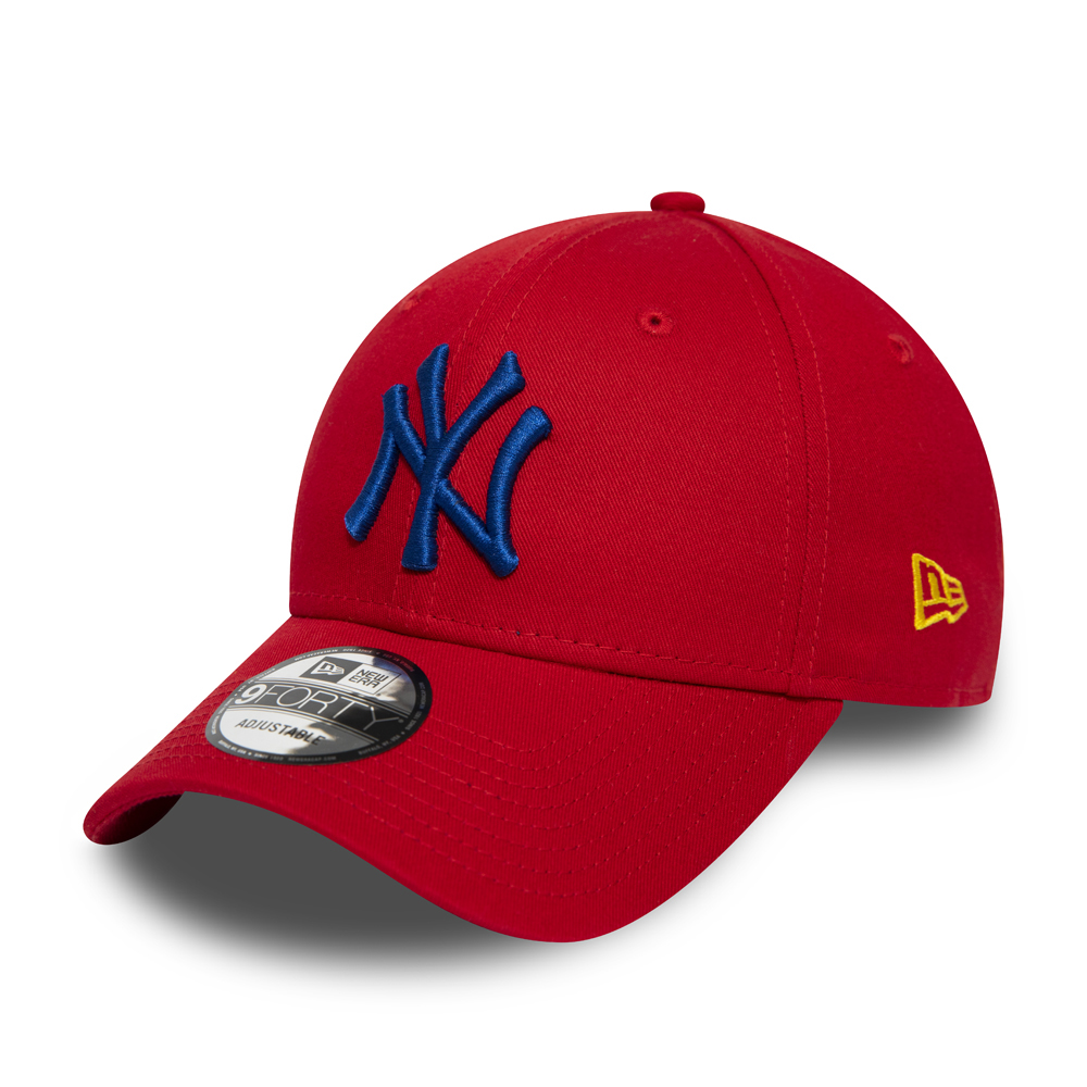 Gorra New York Yankees Essential 9FORTY, rojo