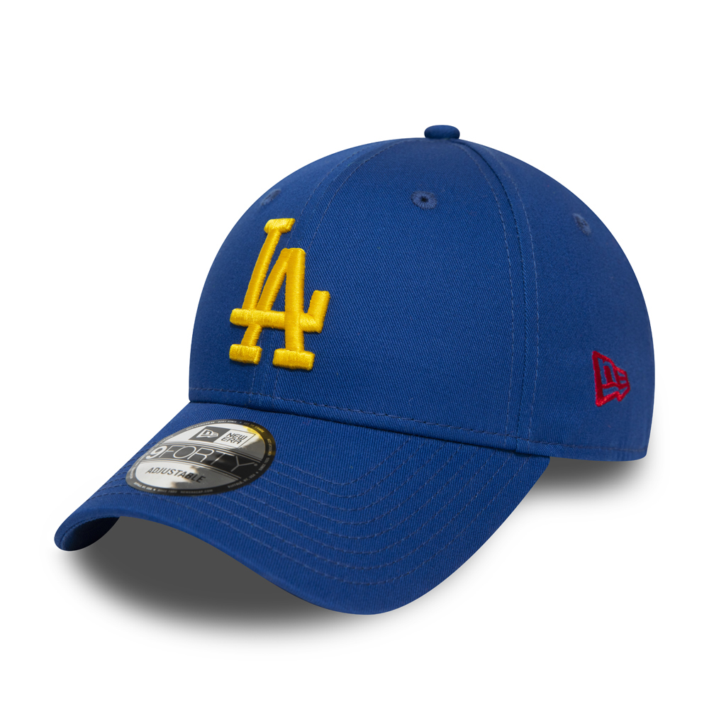 Los Angeles Dodgers Essential 9FORTY Kappe in Blau