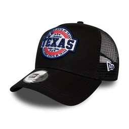 Casquette Trucker A-Frame New Era empiècement Texas noir