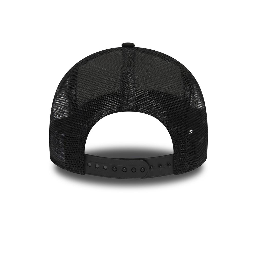 Casquette de camionneur A-Frame noire Taz