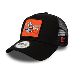 Taz Patch Black A-Frame Trucker