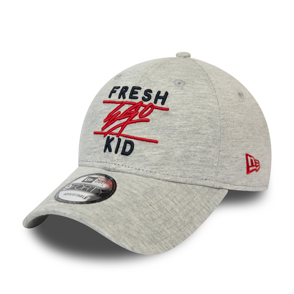 Fresh Ego Kid 9FORTY Kappe in Grau