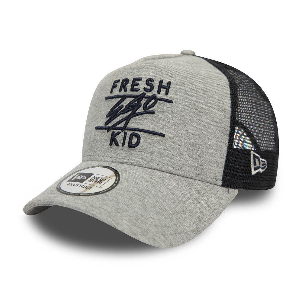 Gorra trucker Fresh Ego Kid Grey Jersey A Frame