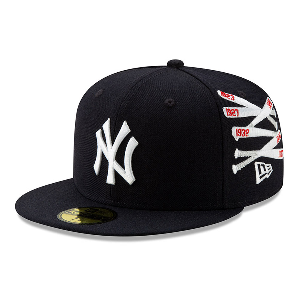 "New York Yankees 59FIFTY-Championship-Kappe mit Gitter ""X Spike Lee"""