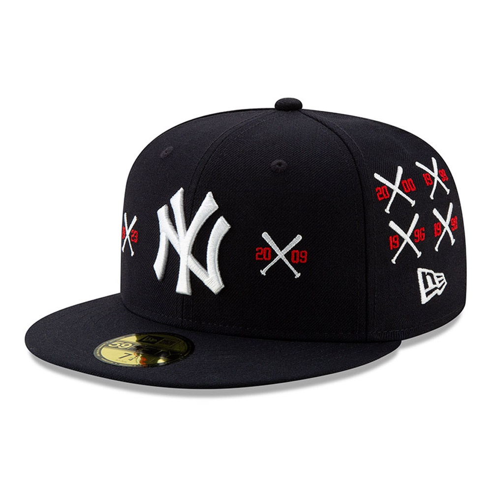 New York Yankees X Spike Lee Championship Crossed Bat 59FIFTY