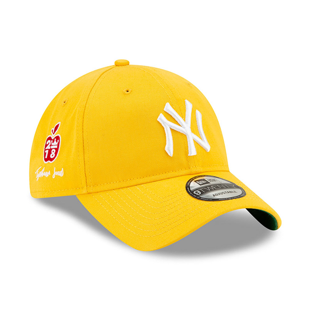 Casquette 9TWENTY Tyshawn Jones des Yankees de New York jaune