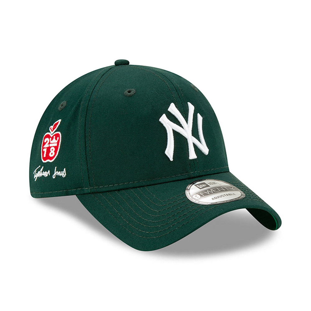 Gorra New York Yankees Tyshawn Jones 9TWENTY verde​​​​​​​