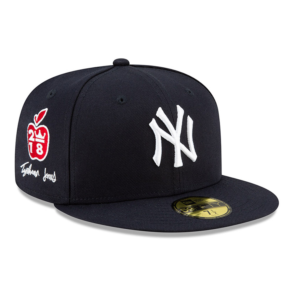New York Yankees Tyshawn Jones Navy 59FIFTY Cap