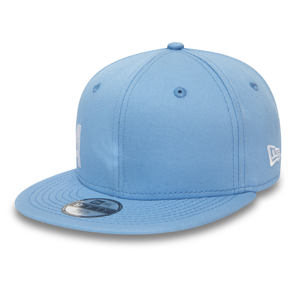 Casquette New Era 9FIFTY bleue enfant Wordmark Essential