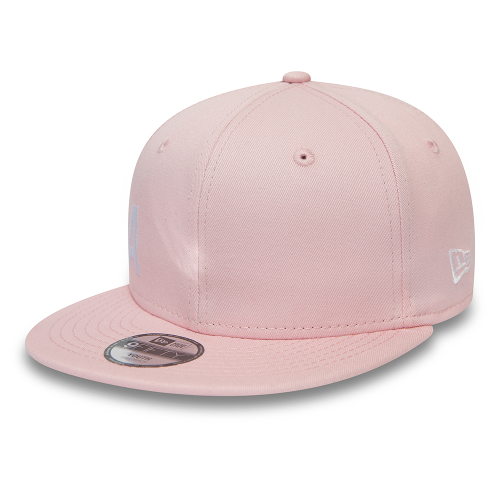 Casquette New Era 9FIFTY rose enfant Wordmark Essential