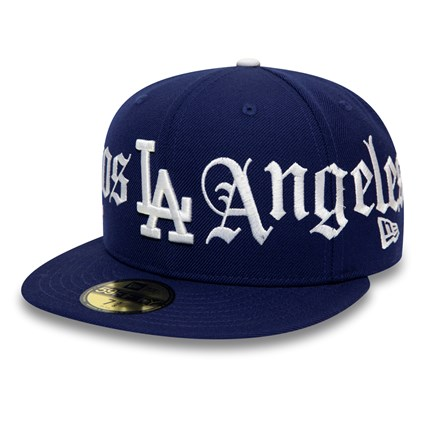 Los Angeles Dodgers Bulldog Panel Navy 59FIFTY Cap