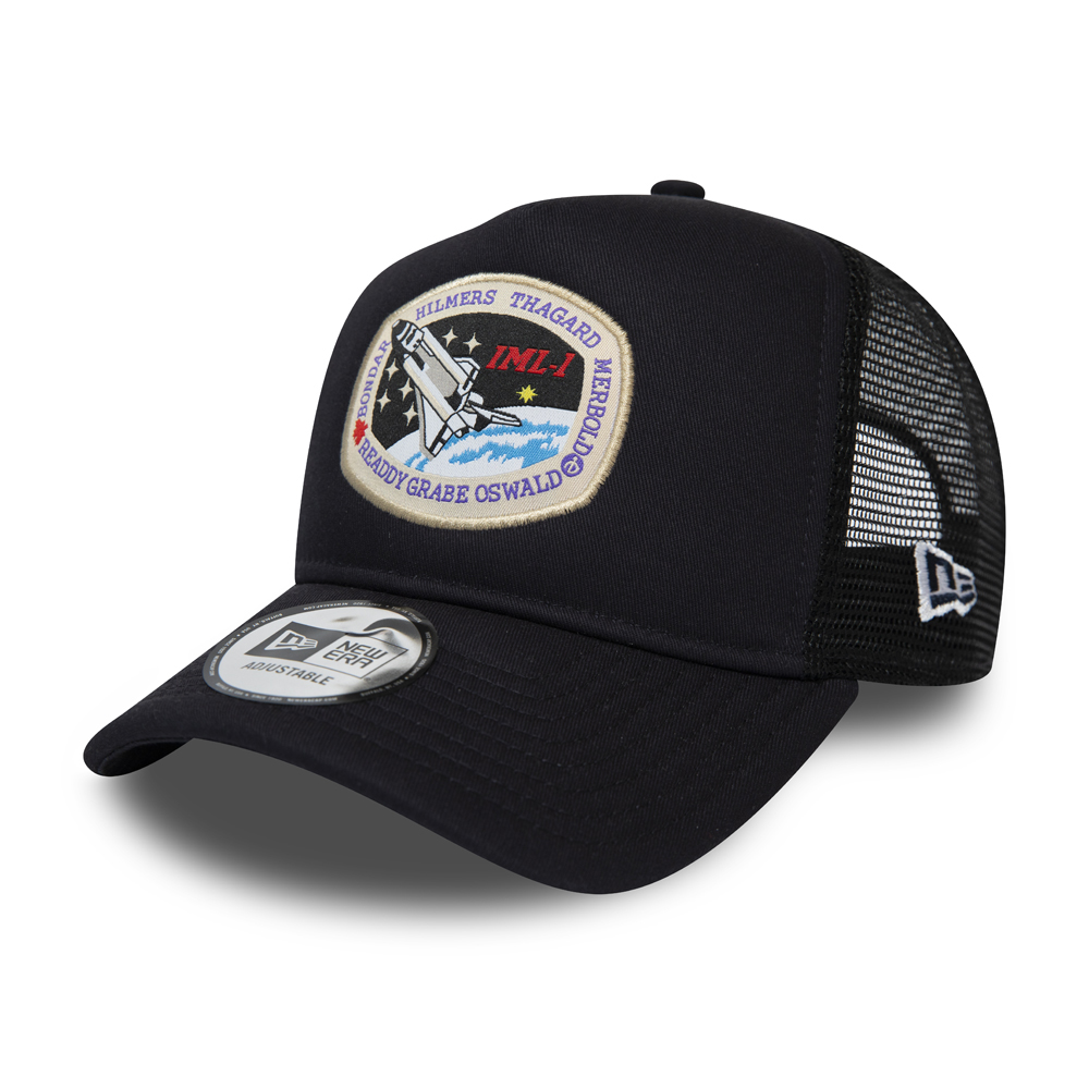 New Era x International Space Archives Navy Trucker