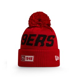 San Francisco Red On Field Knit