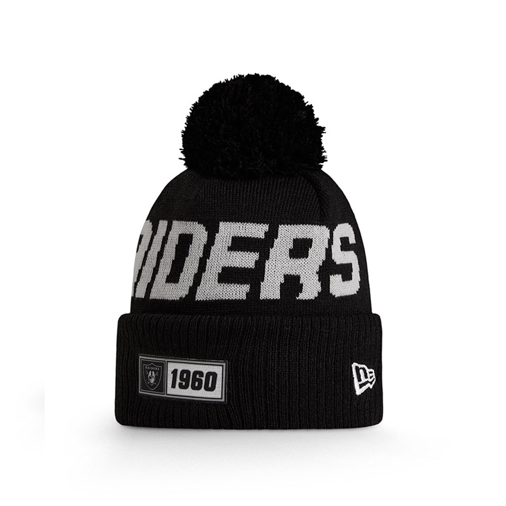 Gorro de punto Oakland Raiders On Field