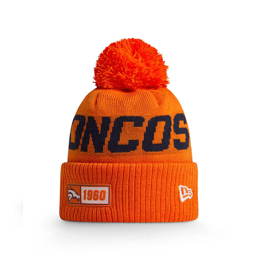 Gorro de punto Denver Broncos Orange On Field