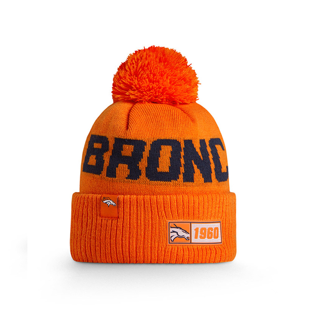 Denver Broncos Orange On Field Knit