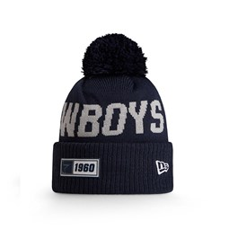Bonnet Dallas Cowboys en maille on field