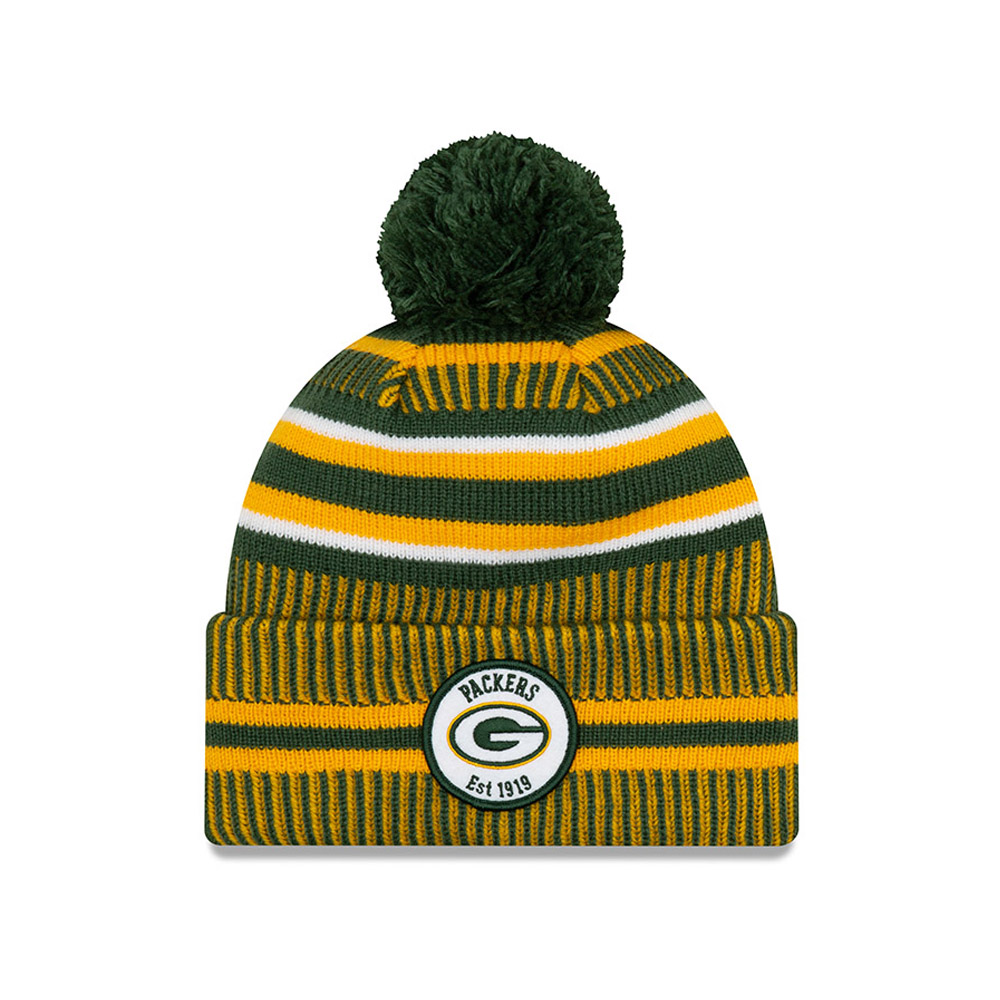 Gorro de punto Green Bay Packers On Field Home