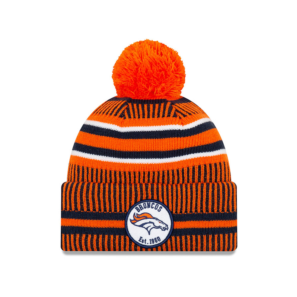 Denver Broncos – On Field Home – Orange Beanie