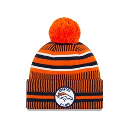 Gorro de punto Denver Broncos Orange On Field Home
