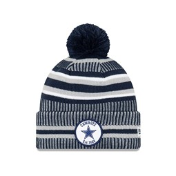 Bonnet Dallas Cowboys en maille on field home