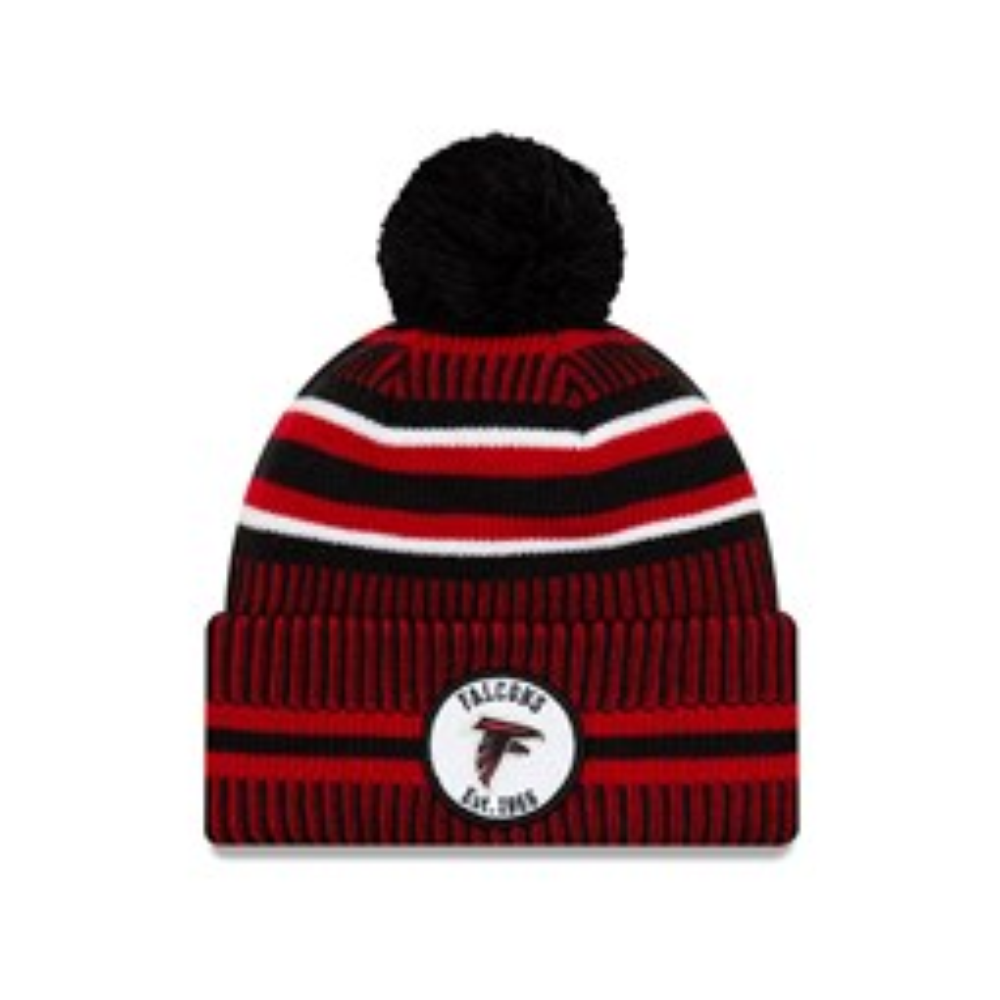 Berretto di maglia con risvolto On Field degli Atlanta Falcons