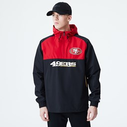 San Fransico 49ERS Colour Block Windbreaker Jacket