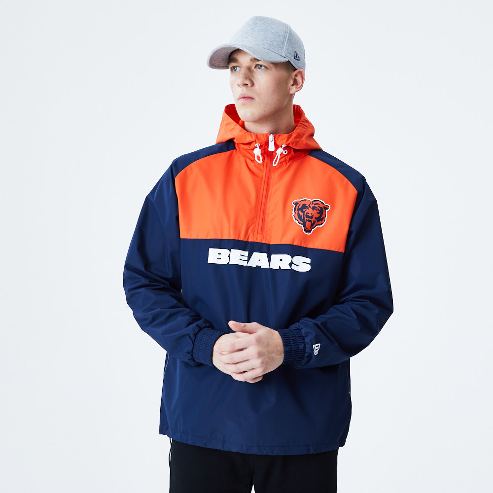Chicago Bears Colour Block Windbreaker Jacket