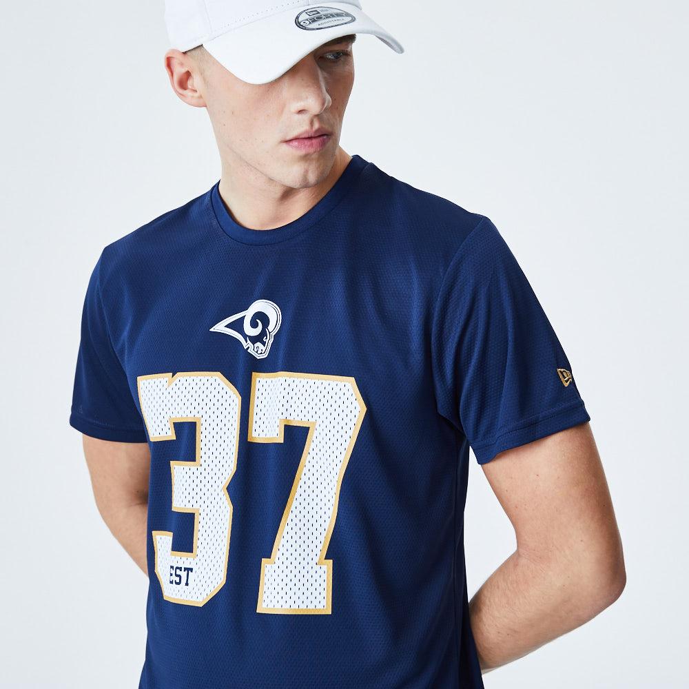 Los Angeles Rams – T-Shirt – Blau