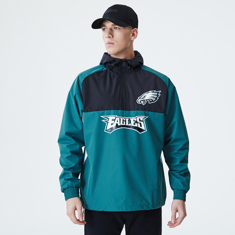Philadelphia Eagles Colour Block Windbreaker Jacket
