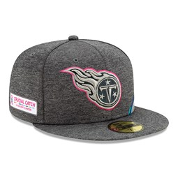 Gorra Tennessee Titans Crucial Catch 59FIFTY, gris