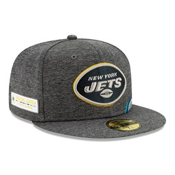 Gorra New York Jets Crucial Catch 59FIFTY Cap, gris