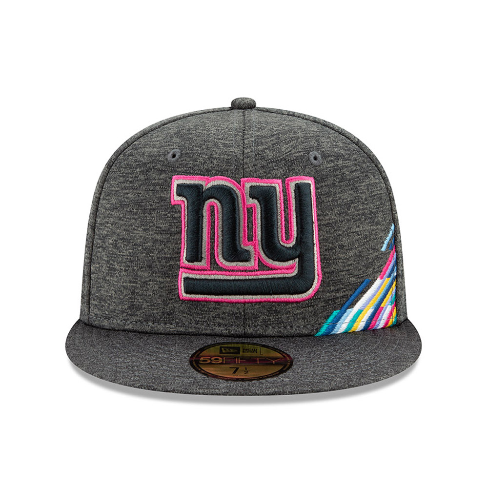 New York Giants Crucial Catch Grey 59FIFTY Cap