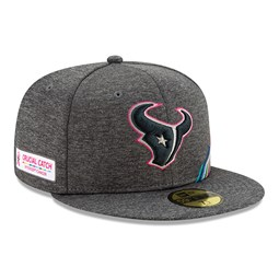Houston Texans Crucial Catch Grey 59FIFTY Cap